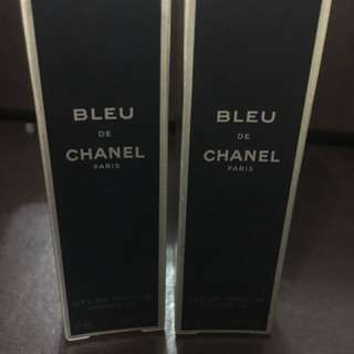 Sale Bundle Authentic Bleu de Chanel paris Shower gel.