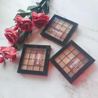 NYX professional makeup shadow palette-warm neutrals
