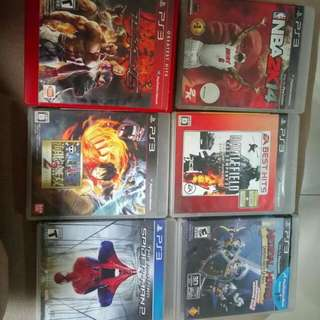 PS3 GAMES 300 EACH