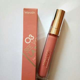 Wardah Exclusive Matte Lip Cream No 03 (See You Latte)