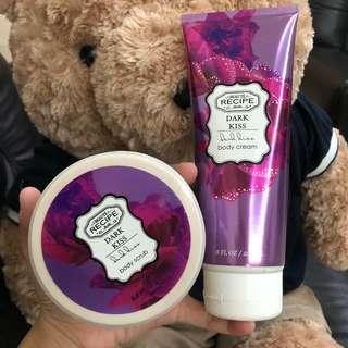 BEAUTE RECIPE Body Cream & Body Scrub