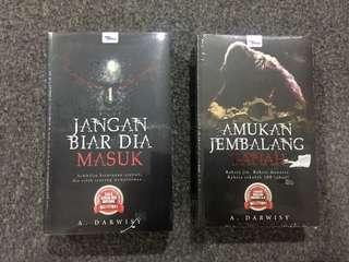 Horror Malay Novel/ Novel Melayu Seram