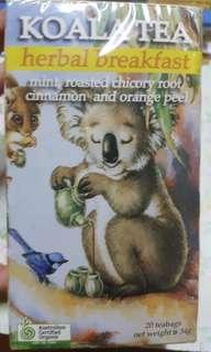 薄荷、肉桂、橙皮Koala 茶包 (澳洲有機)