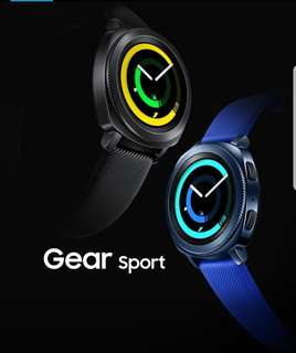 Samsung Gear Sport Watch (blue) 全新三星智能手錶