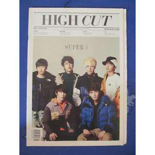 High Cut feat. Super Junior October 2012 Issue