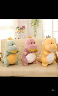 粉色恐龍娃娃