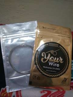 "Kawat "" YOUR WIRE"" Nichrome Jermany 22 AWG /24 AWG /26 AWG"