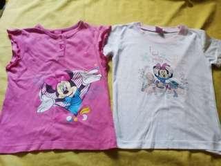 2 Minnie Mouse Shirt