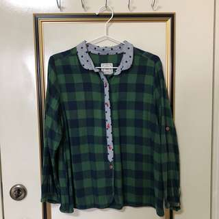 🚚 Sm2格紋長袖襯衫