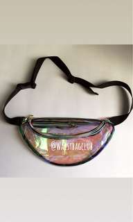 Waistbag holo transparan (Import)