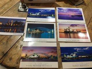 澳洲明信片套組(送吉米卡片*4含信封套)