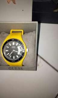 Jam tangan guess yellow