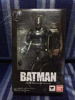 SH Figuarts JL Batman & Loose BTAS Batman Expressions pack Set
