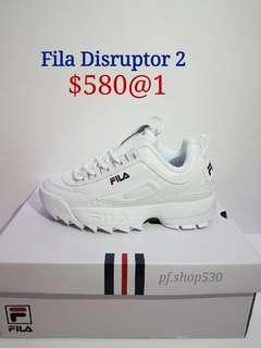 現貨Fila Disruptor 2 內增高厚底波鞋