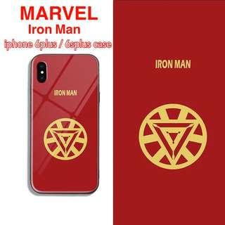 全新 包郵 Marvel Iron Man iPhone 6+/6s+ case
