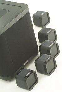 MISSION MCUBE SPEAKERS + SUBWOOFER
