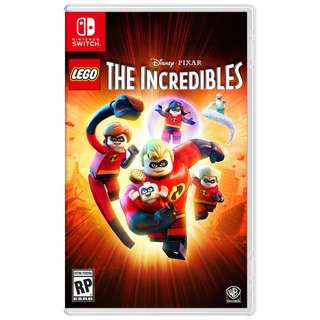 [NEW NOT USED] SWITCH Switch LEGO The Incredible Nintendo Warner Home Video Action Games