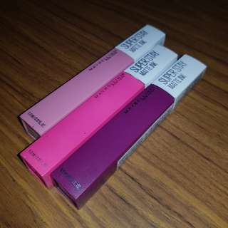 Maybelline Super Stay Matte Ink Authentic