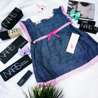 Baby dress 3m_12m