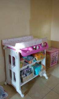 Baby Tafel Bath n Change Station