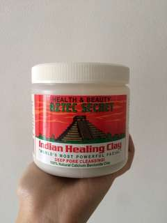 Aztec Secret Indian Healing Clay Tub (60% full)