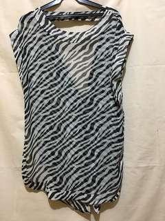 Cover Up (Zebra Print)