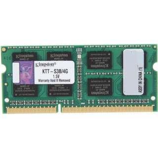 Kingston 4GB 204-Pin DDR3 SO-DIMM DDR3 1333