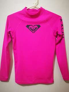 Roxy Pink Rashguard