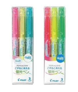 Frixion Highlighters