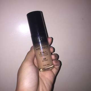 Milani Conceal + Perfect 2-in-1 Foundation + Concealer (02 Natural)