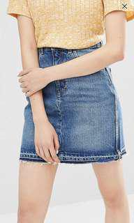 Monki denim skirt