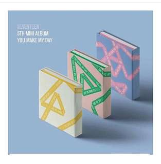 [PO] SVT 5th MINI ALBUM -You make my day
