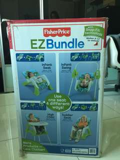 Fisher Price EZ Bundle 4 in 1 Baby Seats