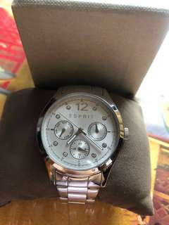 Preloved Esprit Women Crytal Watch