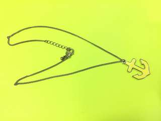 Forever 21 Anchor Necklace