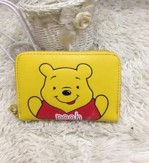 Pooh Small Wallet Coin Purse