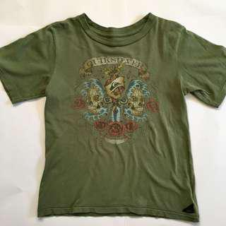 Quicksilver Limited Edition Boys Size 7 T•Shirt  worn twice like new