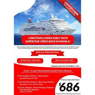 6D5N HOLIDAY CRUISE