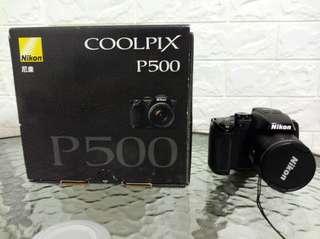 🚚 九成新 Nikon COOLPIX P500 類單眼相機