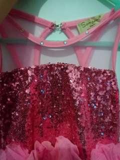 Dress party pink blink blink