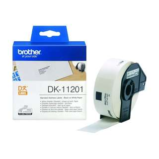 1274. Brother DK11201 29x90mm Standard Address Label - White (Roll of 400)