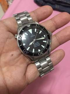 omega professional seamaster diver 300m watch only