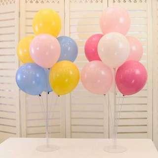 氣球裝飾柱~ 不用加氦氣 也可以 做到 豎立效果