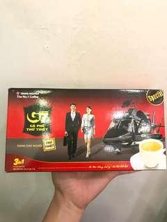 🇻🇳越南直送 G7 3合1即溶咖啡 Vietnam 3 in 1 Coffee 21包盒