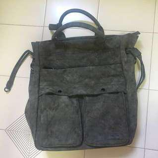 🚚 (Price dropped!!!) Mizzue brand new grey bag (can be backpack, sling or handcarry)