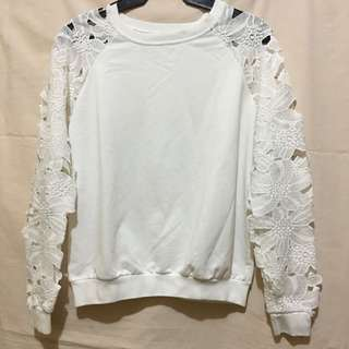 Long Sleeves (Lacey White)
