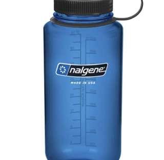 BN Naglene Dark Blue Bottle 32Oz