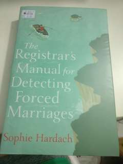 The registrar's manual for detecting forced marriages (Novel)
