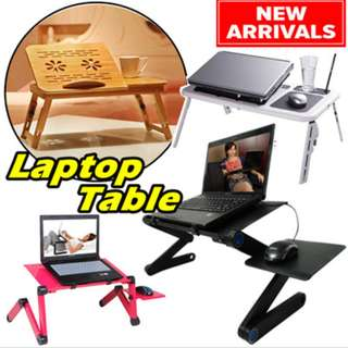★ Multi Functional Foldable Laptop table ★ Laptop Desk with USB Cooler/Fan/Foldable Portable table