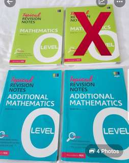 🚚 Topical Revision Notes Mathematics & Additional Maths O Level
